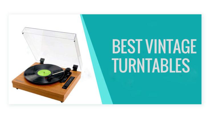 best vintage turntables