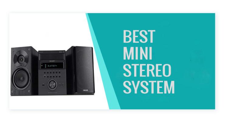 Best Mini Stereo System