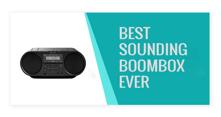 Best Sounding Boombox Ever