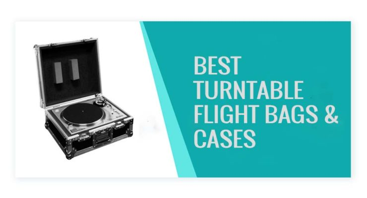 Best Turntable Flight Cases