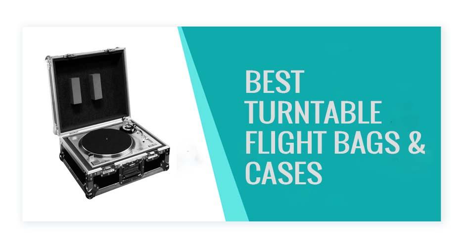 Best Turntable Flight Cases